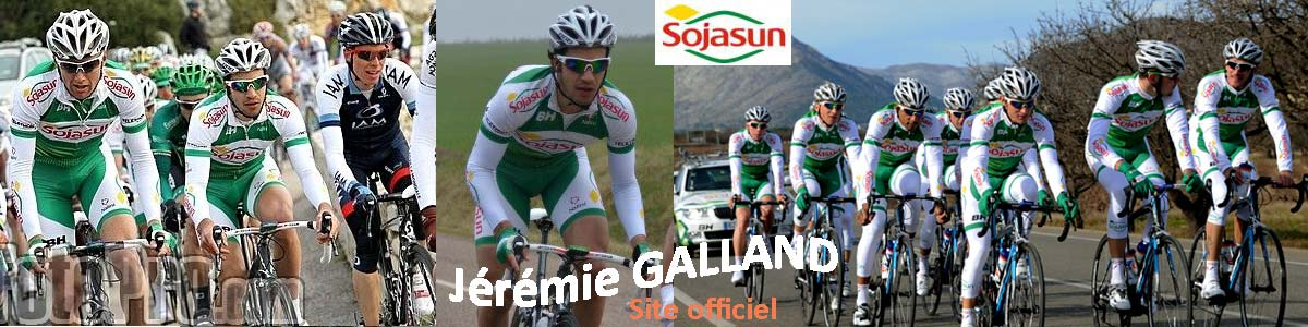 Site officiel de Jérémie GALLAND