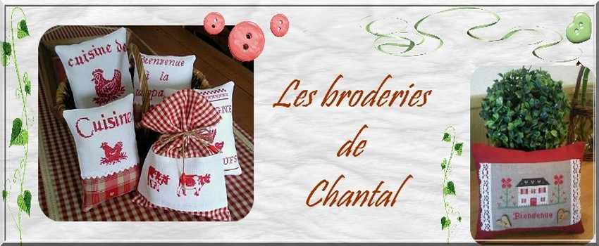 Les broderies de Chantal