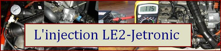 L'Injection LE2-Jetronic BOSCH