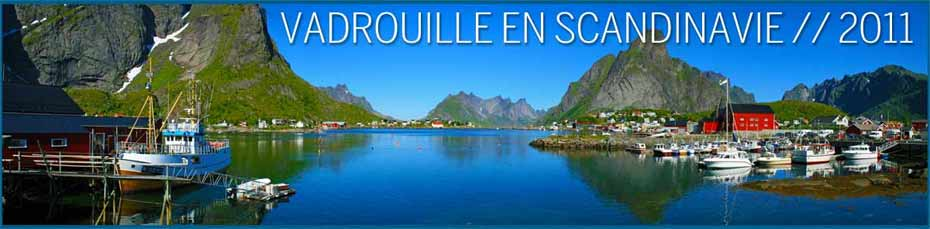 Vadrouille en scandinavie 2011