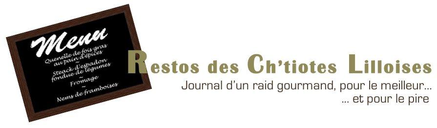Le blog de restos des Ch'tiotes Lilloises