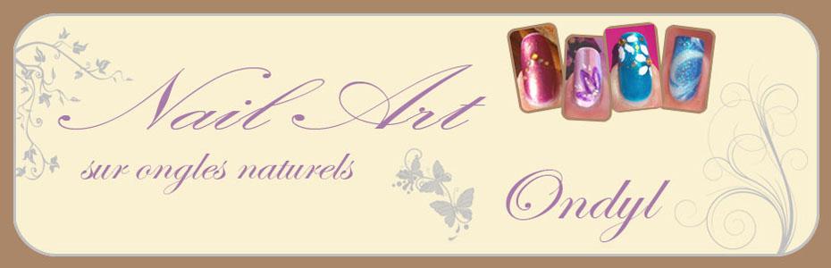 Ondyl & ses Nail Arts sur ongles naturels